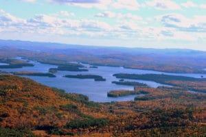 fall vacation hiking Mt Morgan, NH