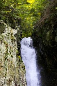 Waterfall near Castle in the Clouds near Lake Winnipesaukee