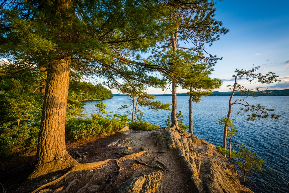 getaway in New Hampshire's lakes region