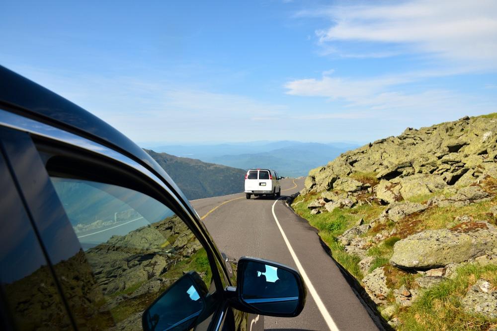 Drive up Mt. Washington Auto Road this summer